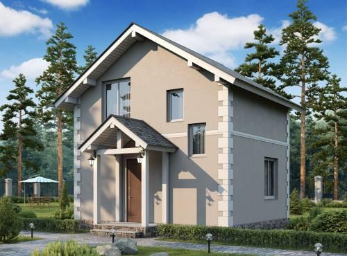 Проект дома из СИП панелей СОЛО