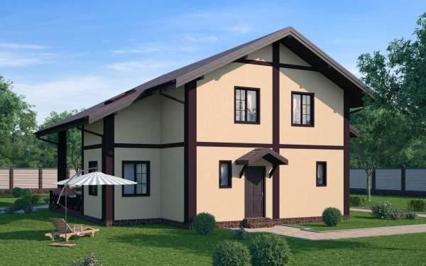 Проект СИП дома  ЭДЕЛЬВЕЙС