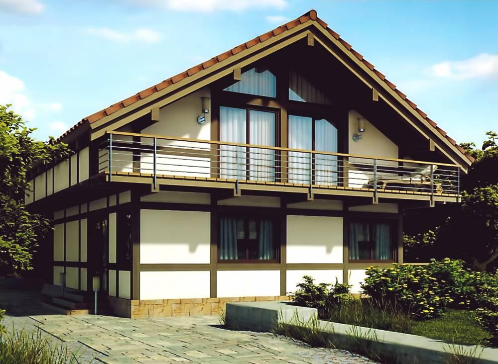Проект каркасного дома ФОРЕСТ