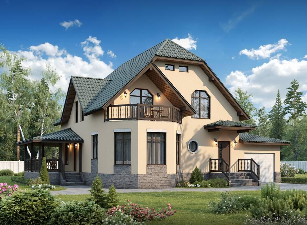 Проект каркасного дома ГАММА