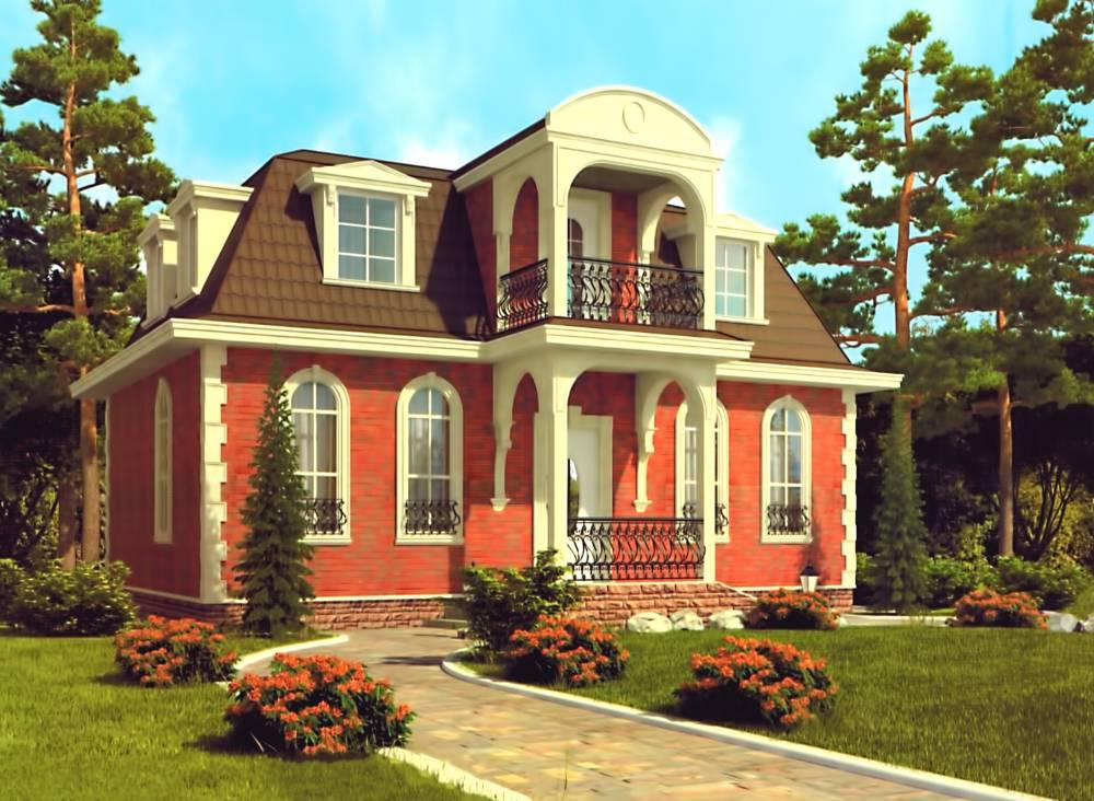 Проект дома из СИП панелей НАПОЛЕОН