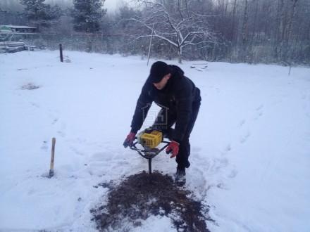 Пробное бурение и анализ грунта на участке