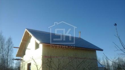 """Монтаж дома из СИП панелей в комплектации """"Стандарт"""" завершен"""