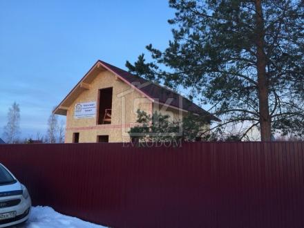 Строительство дома из СИП панелей в г. Павловск Санкт-Петербурга по типовому проекту КЛИО
