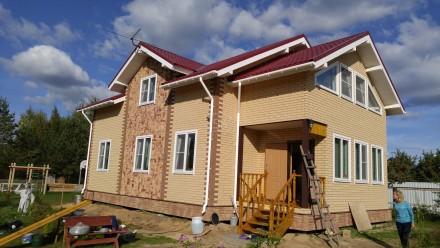 Строительство СИП дома по индивидуальному проекту в Санкт-Петербурге