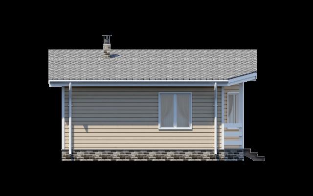 Проект дома-бани из СИП панелей ЭЛЛИН